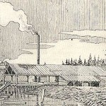 Henry Yesler's first sawmill, Seattle.